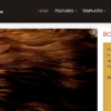 Hair Care WordPress Theme