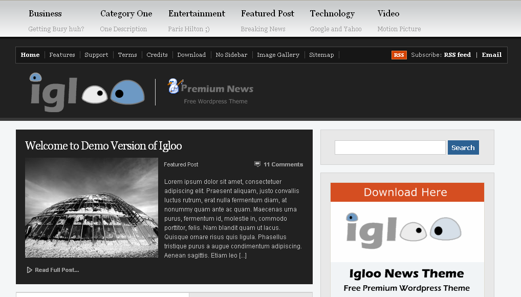 igloo-screen
