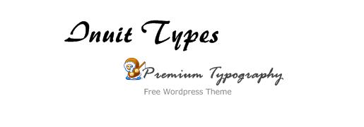 Inuit Types WordPress Theme