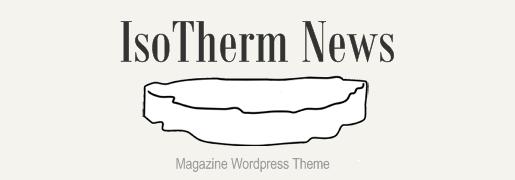 IsoTherm News Magazine WordPress Theme