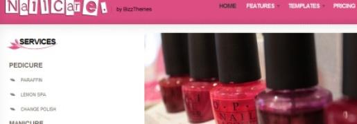 Nail Care WordPress Theme